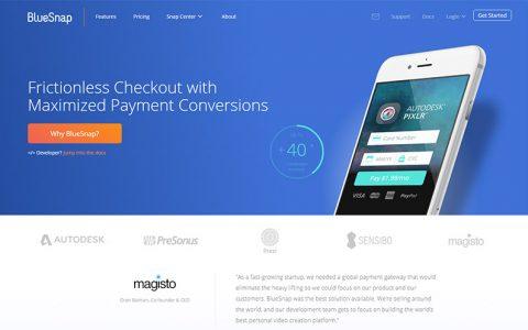 BlueSnap介绍 - 可以帮你全球收款也可以卖别人的产品赚佣金