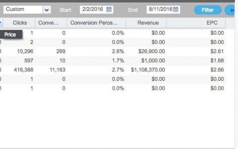 案例:1 Offer in 1 Geo ,6个月$1,100,000