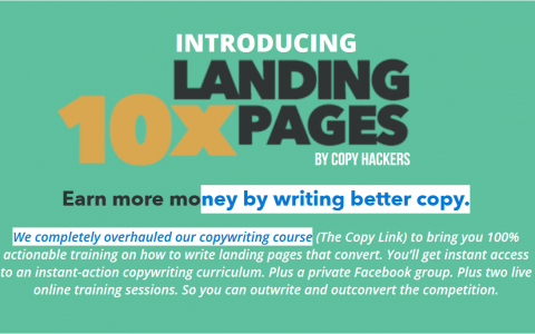 Landing Pages教程(10x Landing Pages)