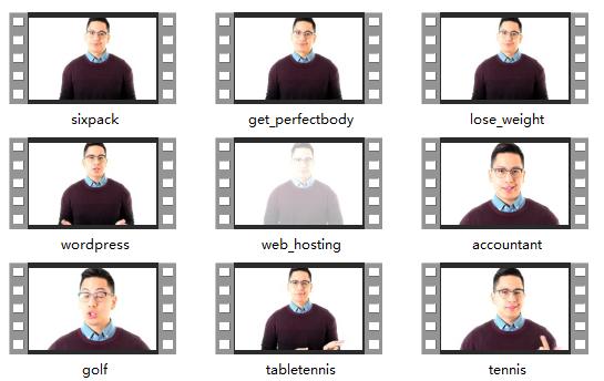 做视频的一些素材