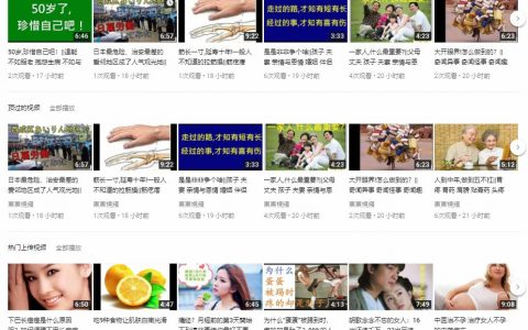 Youtube中文视频