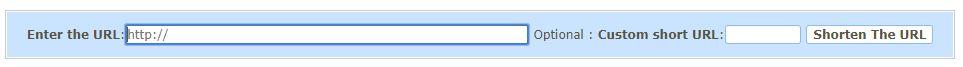 Youtube技巧:使用自己的短网址