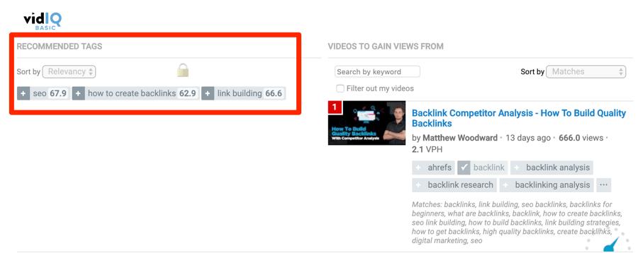 YouTube关键字研究工具