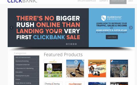 如何注册Clickbank账号