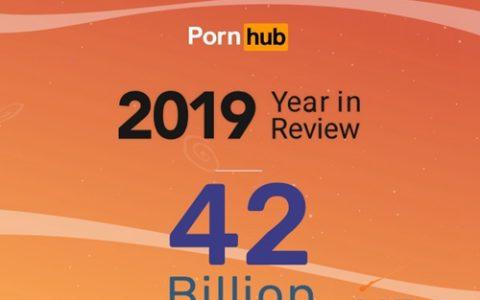 PornHub发布2019年的大数据,看看人类最原始的驱动力- 性,有多强大!