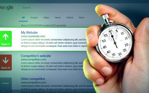 在Google排名前10需要多长时间?