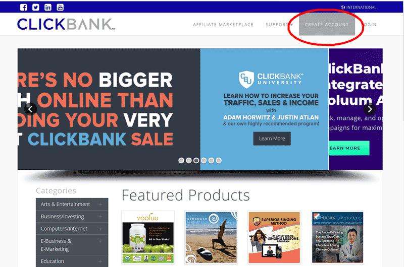 可以申请Clickbank账号啦!不要错过机会!