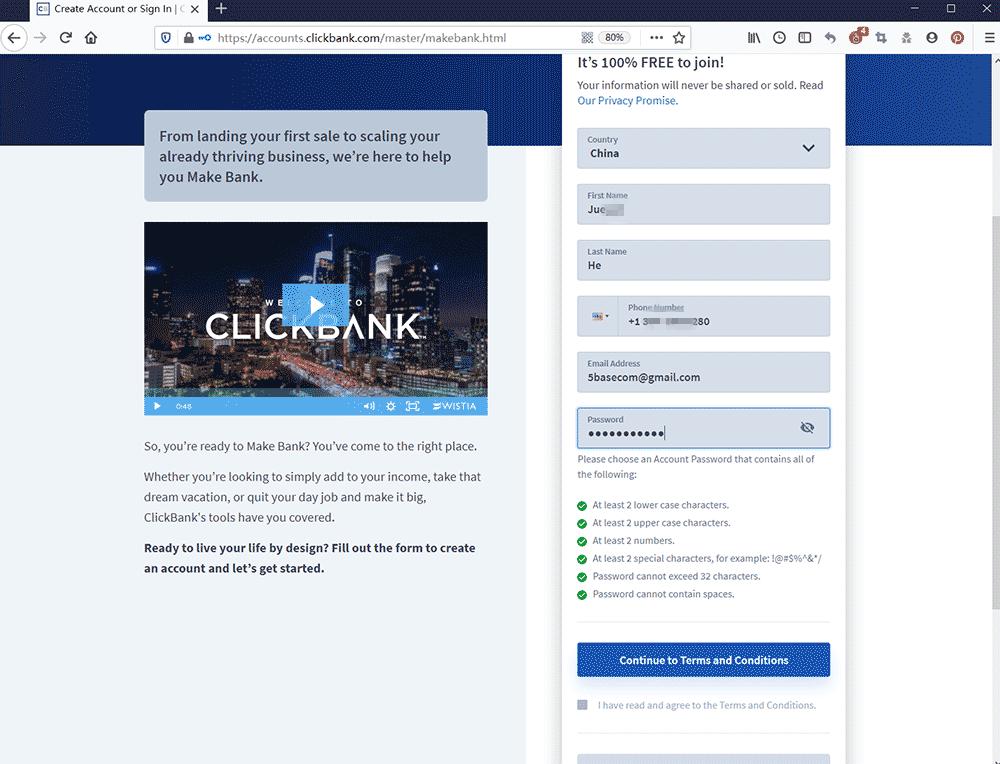 clickbank如何注册
