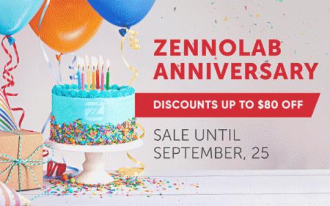 ZennoPoster 12周年庆,获得高达$80的折扣