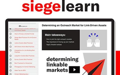 干货教程:内容营销教程(Content Marketing Course - SiegeLearn)价值749美元