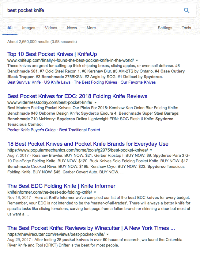 google关键词排名案例