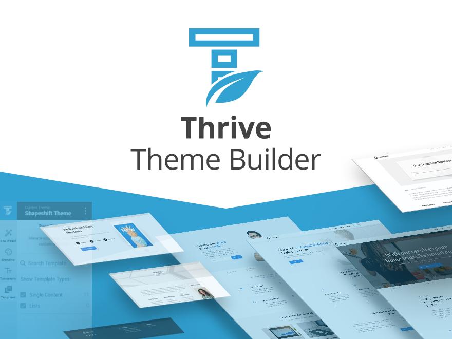 WordPress主题:Thrive Theme Builder
